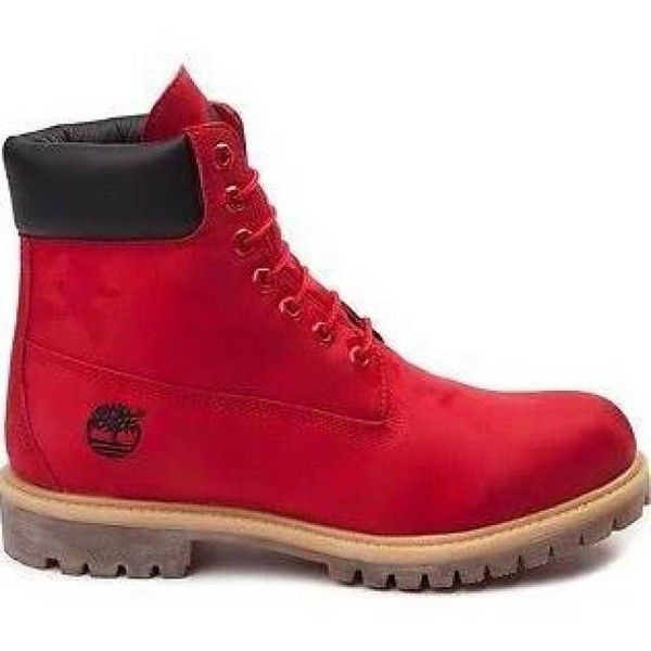 "Men's Timberland 6"" Classic Jacquard Boot ($250) ❤ liked on Polyvore featuring men's fashion, men's shoes, men's boots, mens red shoes, timberland mens boots, mens boots, timberland mens shoes and mens shoes"
