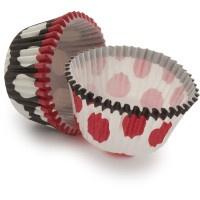 For UGA football season, Meri Meri® Dot Duo Bake Cups, Set of 48  $4.95