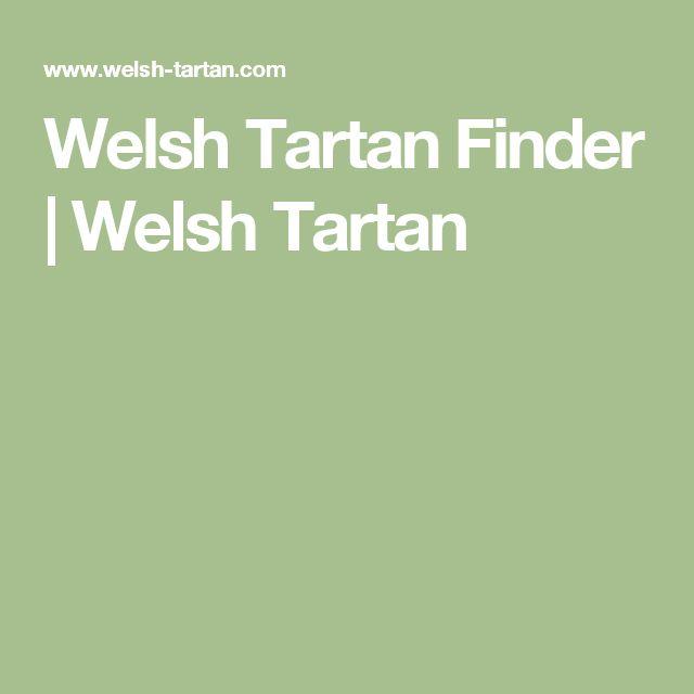 Welsh Tartan Finder | Welsh Tartan