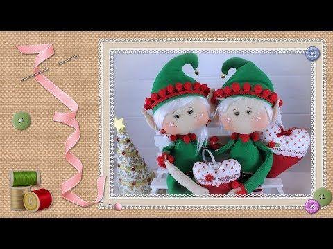 Tutorial Pareja de duendes: 4ª parte / Tutorial Couple of goblins: Part 4 - YouTube