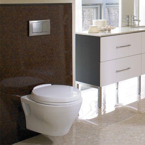 Aquia Wall-Hung Dual-Flush Toilet from TOTO