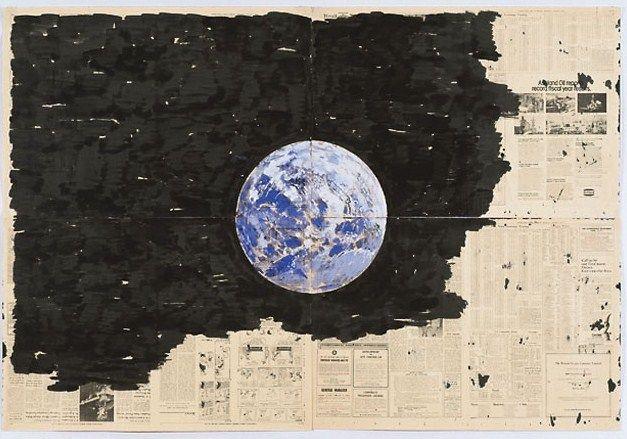 Paul Thek (1933-1988) Untitled Earth Drawing I 1974
