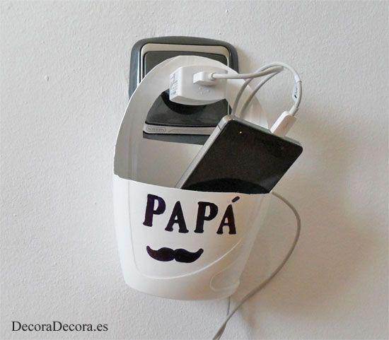 Un regalo, decorativo, funcional y económico, para papá. - DECORA DECORA