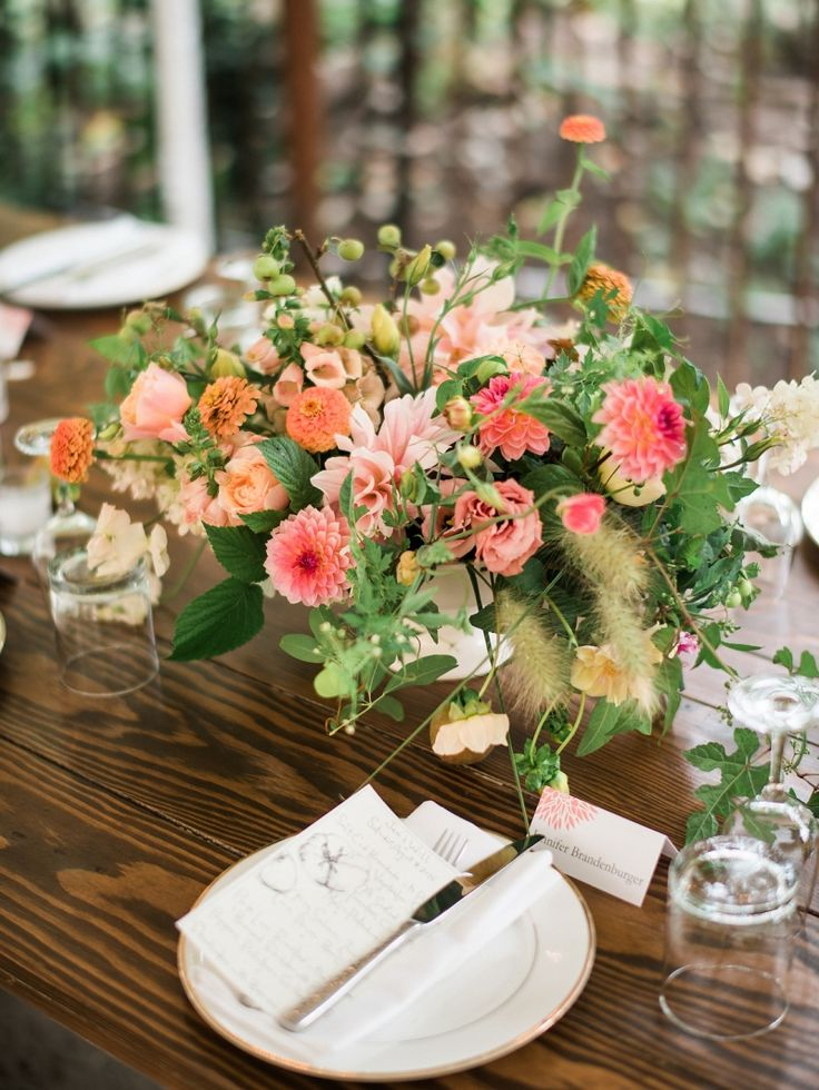 from Floret Flowers Intimate dinner party