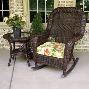 Outdoor Resin Wicker Rocking Chairs On Hayneedle   Wicker Rocking Chair