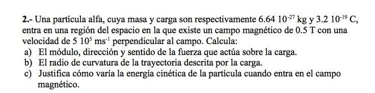 Ejercicios de Electromagnetismo propuestos en el examen PAU de Canarias  de 1999, opción B.