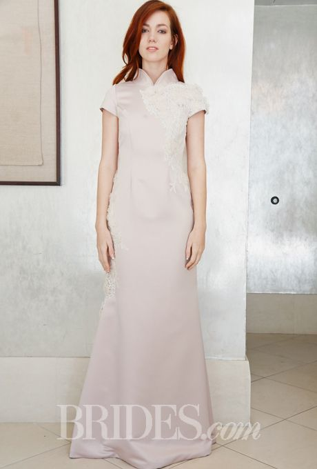 Brides.com: Kelima K - Spring 2015. Wedding dress by Kelima K
