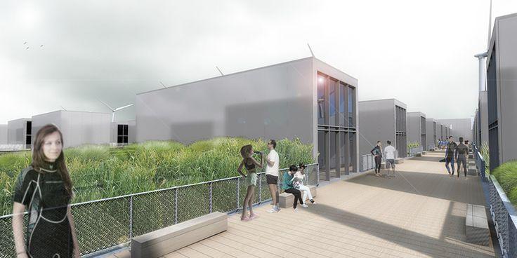 Découvrez et votez pour notre projet Le village olympique flottant / Glaz house à #Brest en 2024 http://www.trace-associes.com/index.php/214-village-olympique-brest