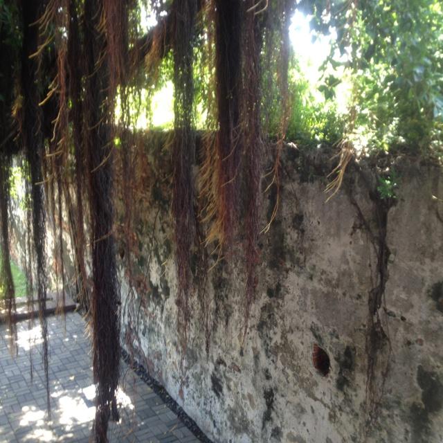 Fort Zeelandia Wall