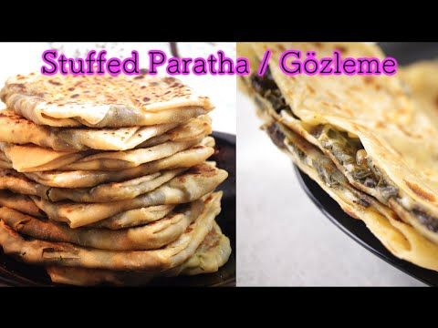 Stuffed Paratha   Gozleme - Dosatopizza