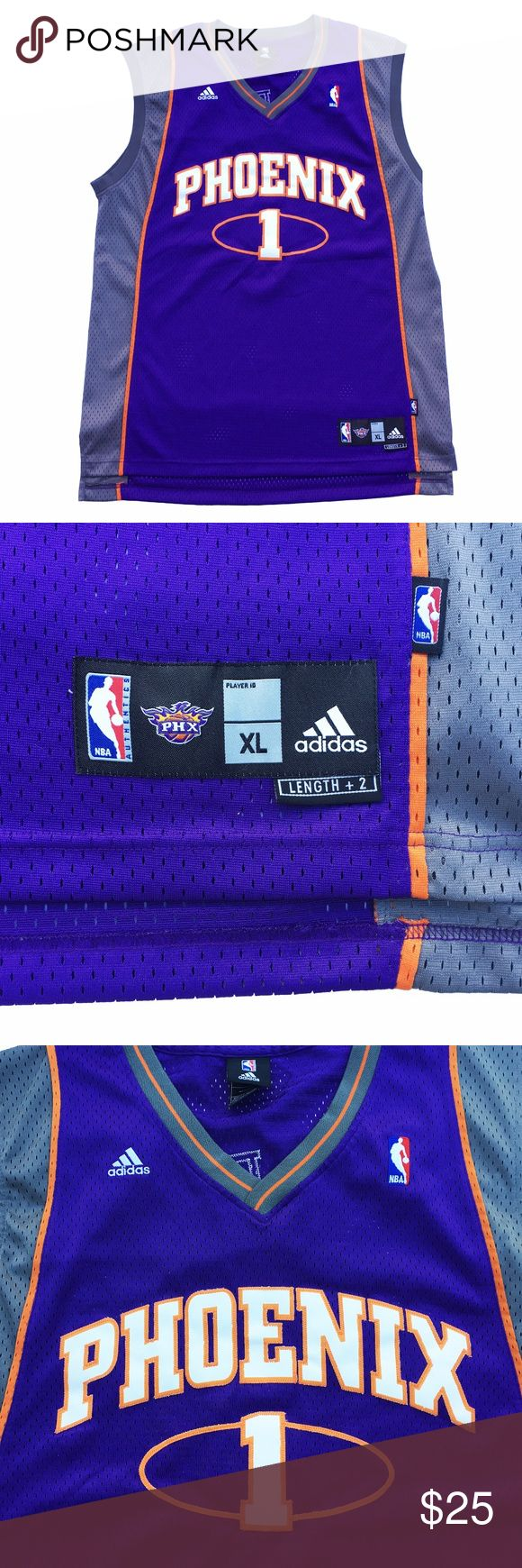 Amare Stoudemire Phoenix Suns Adidas Jersey XL +2 Adidas Phoenix Suns Amare Stoudemire jersey. Size XL +2. Great condition. Very wearable. 9/10 condition. adidas Shirts