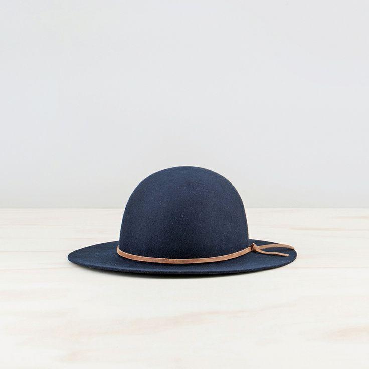 YELLOW 108 - HARVEST HAT NAVY