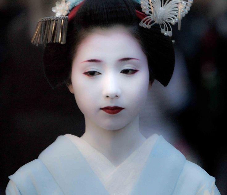 Kyoto Japan Junior Geisha Maiko