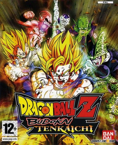 Dragon Ball Z Budokai Tenkaichi cover