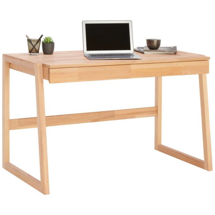 Linea Natura Schreibtisch Buche Massiv Schreibtisch Holz Schreibtisch Zu Hause Holzschreibtisch