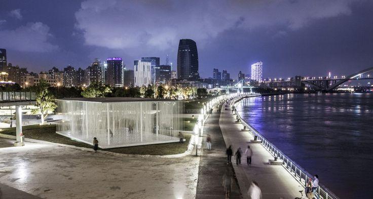 Pavilhões da Ala Oeste da Bienal de Xangai / SHL Architects