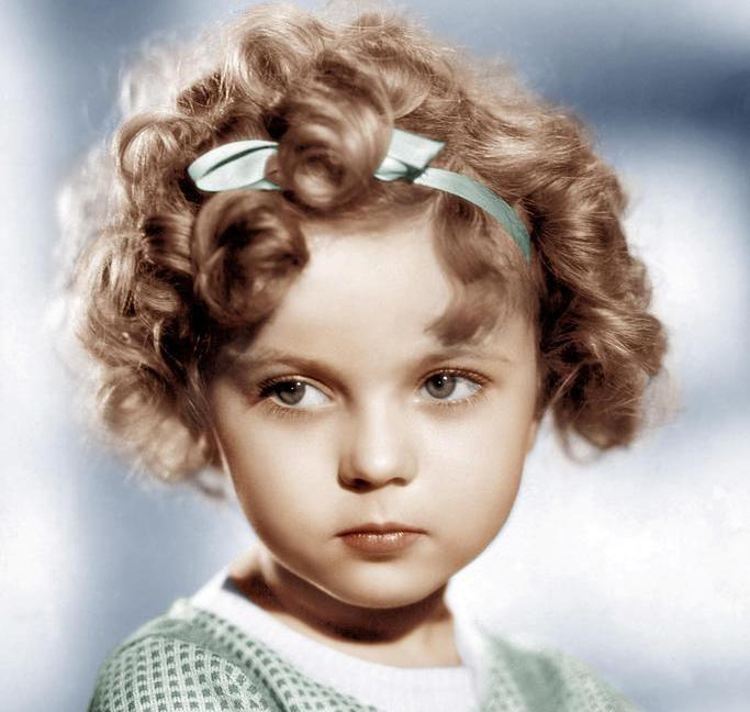 Good.... rosto de boneca!!!    Shirley Temple.... <3