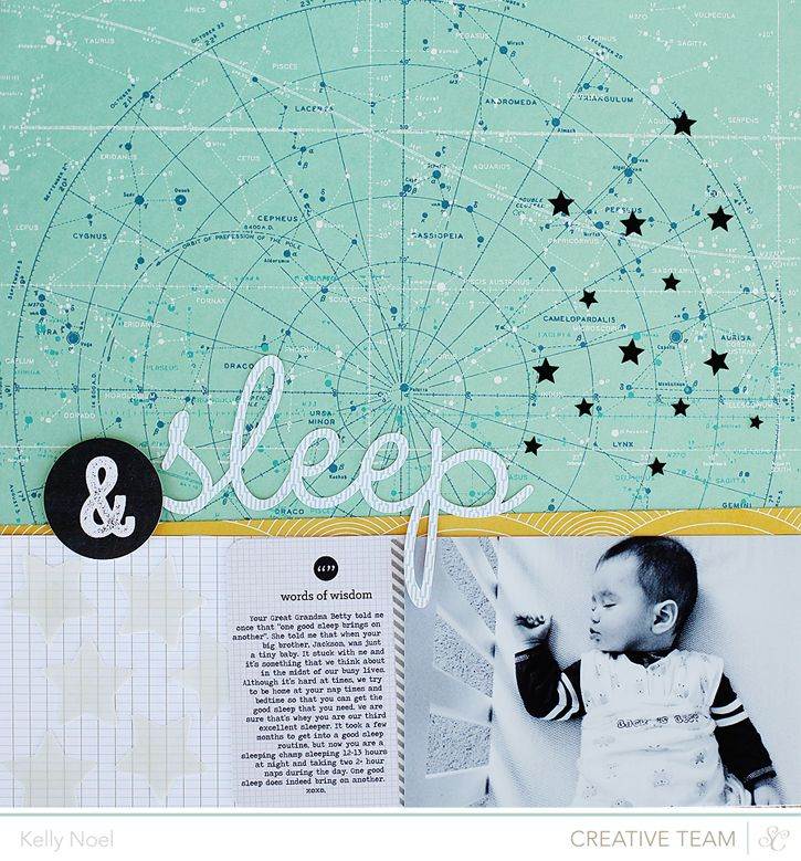 Sleep - Studio Calico Cuppa Kit - Kelly Noel