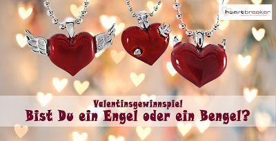 """EVI `s Produkttestblog: Valentinsgewinnspiel """"Bist du ein Engel oder ein Bengel"""" - Heartbreaker-Schmuck"""