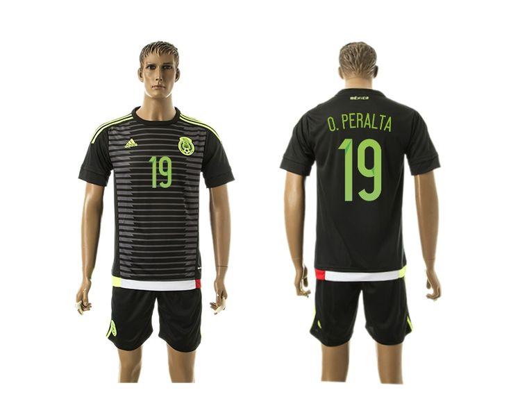 7c62ba6c0 ... away Mexico 19 O.Peralta Home Soccer Country Jersey ... Long Sleeve ...