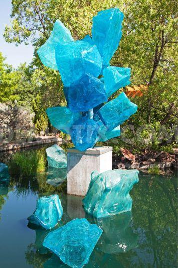 Chihuly glass sculpture exhibit, Denver Botanic Gardens