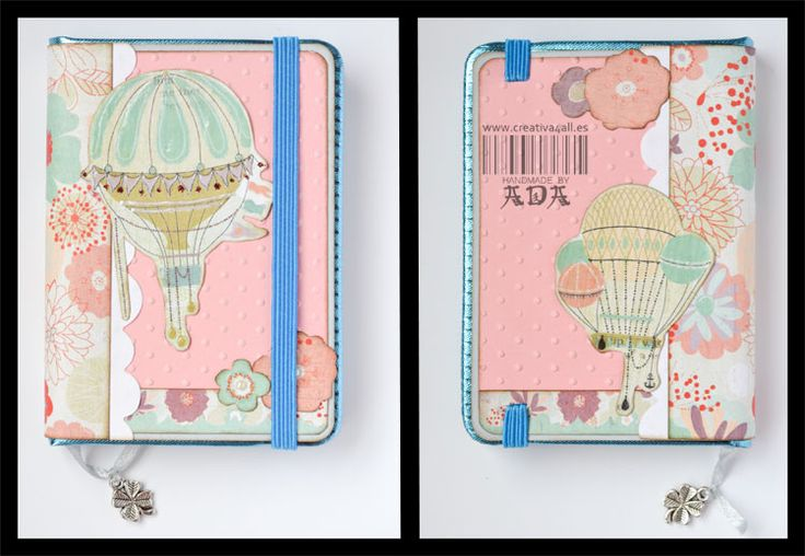 Creativa4all » SCRAPBOOKING: LIBRETAS EN LOTE Libreta, mini moleskine, alterado,  Notebook, mini moleskine, basic grey, baloom,
