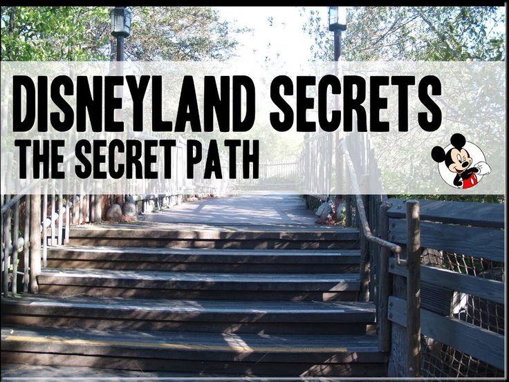 Disneyland Secret No. 3   Harbour Galley Secret Path