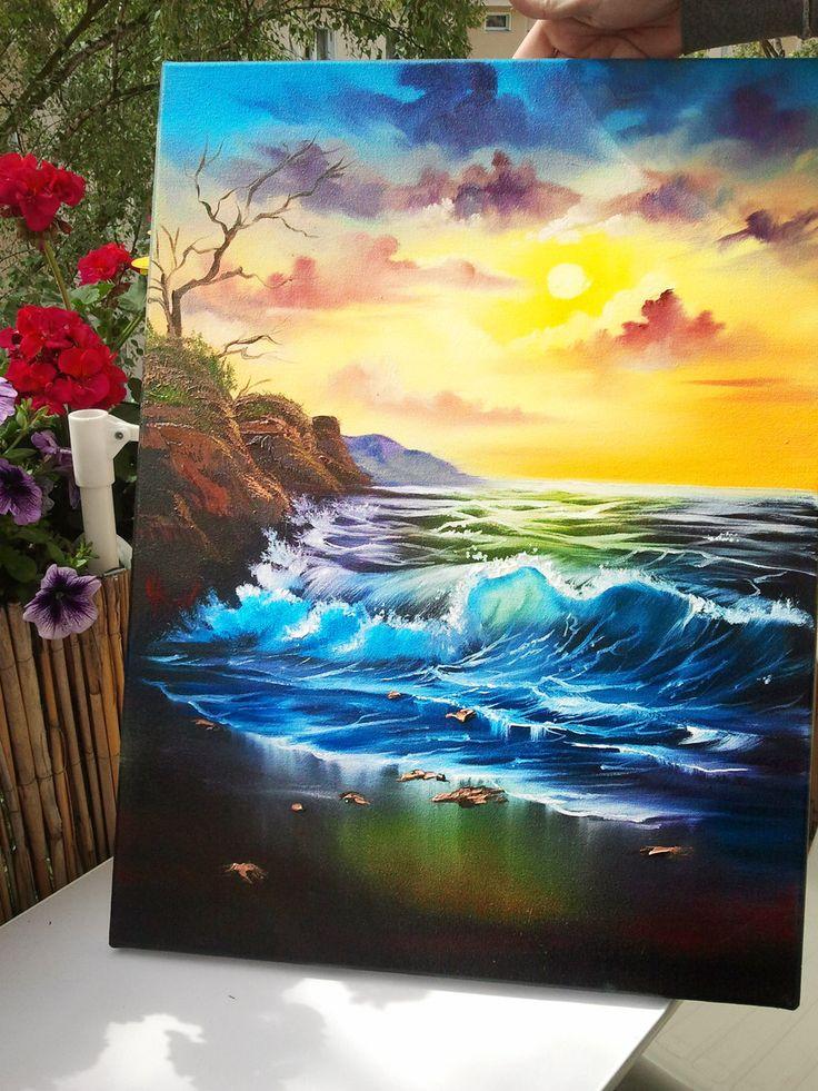 Seascapes by Naschi.deviantart.com on @DeviantArt