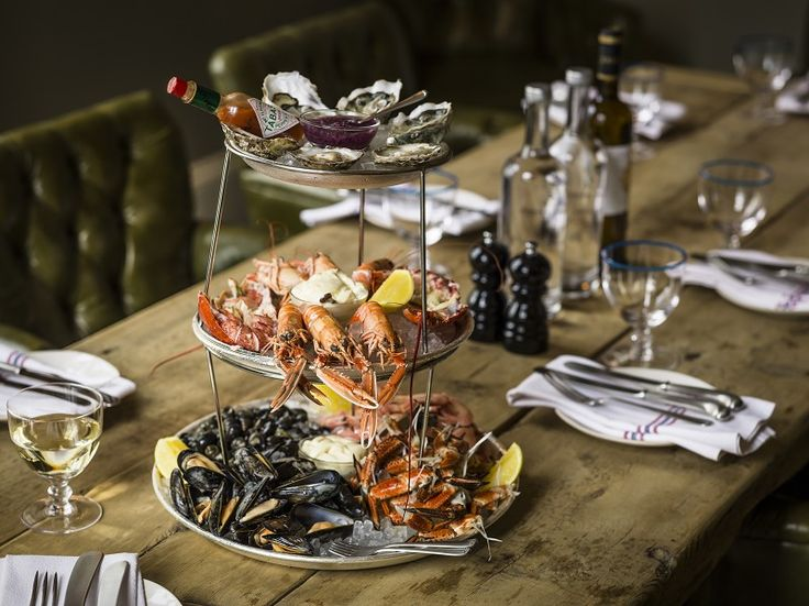 An outstanding seafood platter at the restaurant in the No 131 hotel in Cheltenham #hotel #foodie #seafood #foodieheaven #hotelguide #trusttheexperts