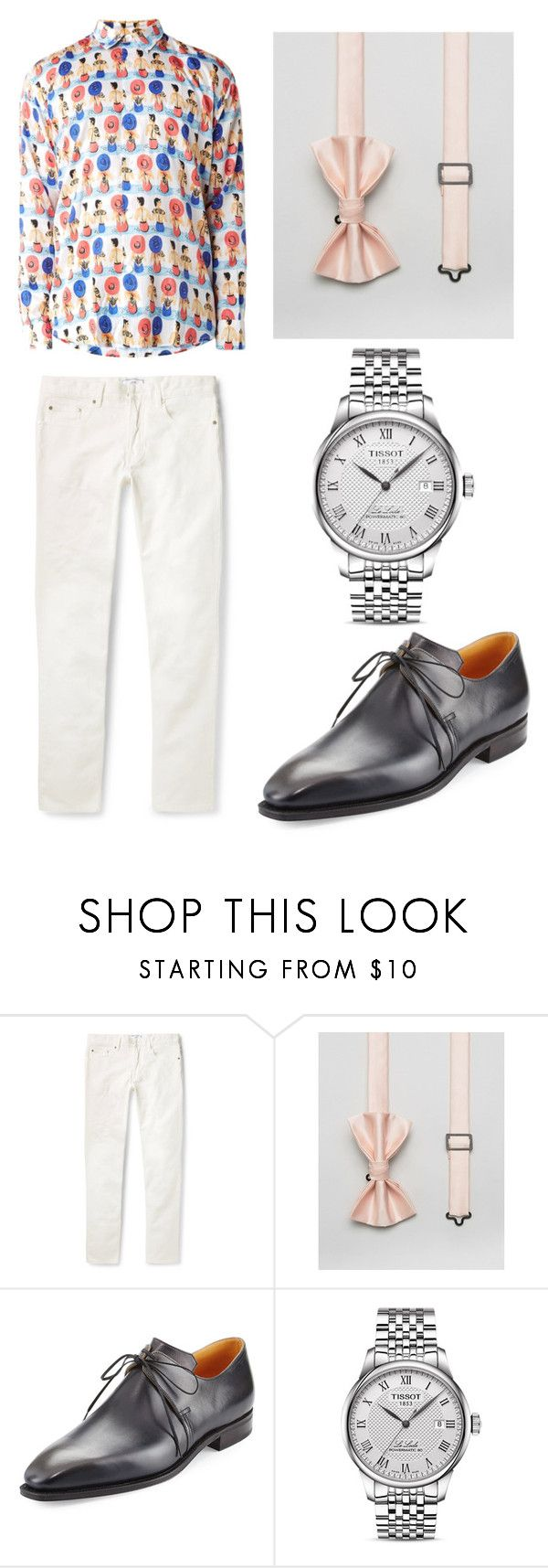 """Australian designer"" by sparklepieceblog on Polyvore featuring ASOS, Corthay, Tissot, men's fashion and menswear"