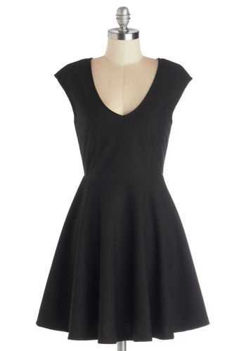 Your Very Best Dress. Every gal tends to have that one special dress that can be worn in countless ways, on countless occasions. #black #modcloth