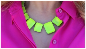 Mirabella Makeup on Neon Neck Charm  Mirabellabeauty  Neon  Necklace   Trending Neon