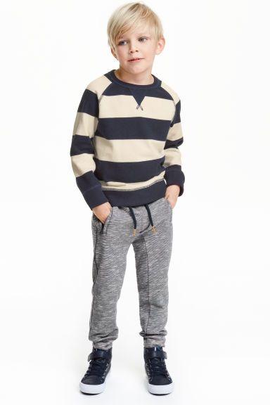 Pantalón en tejido sudadera   H&M