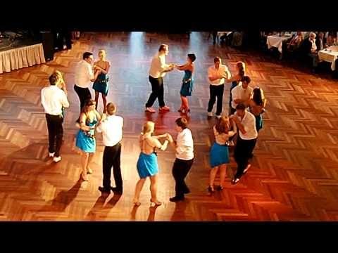 Rueda de Casino - Salsa Cookies auf der Sommernachtsparty Tanzschule Dieter Keller - YouTube