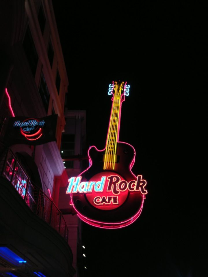 How do you not go to the Hard Rock Cafe??