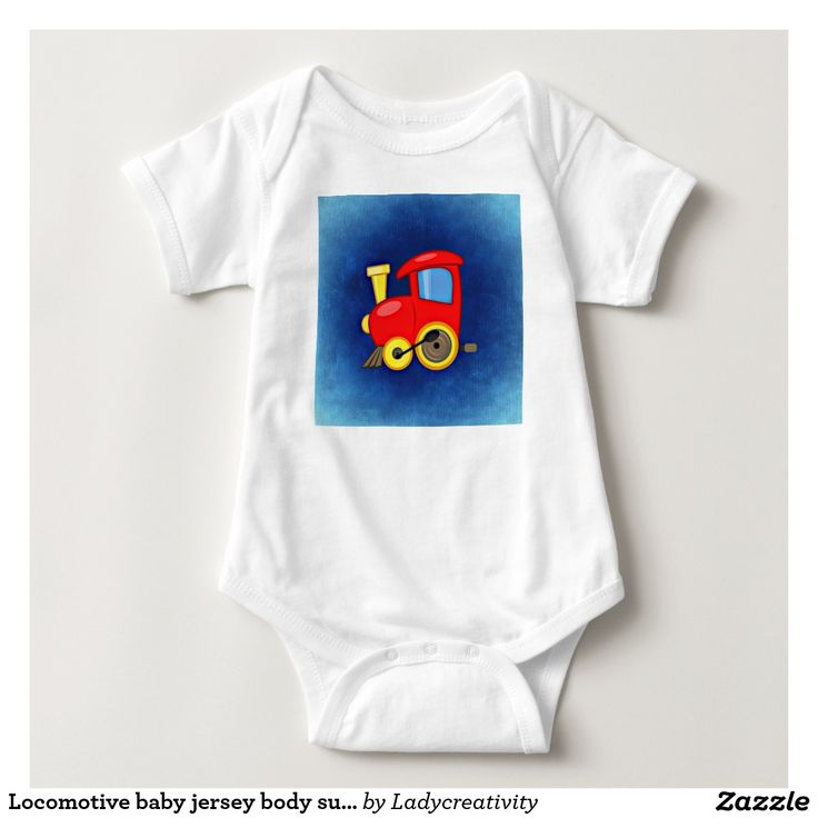 Locomotive baby jersey body suit tshirt