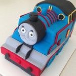 3D thomas cake with video instructions