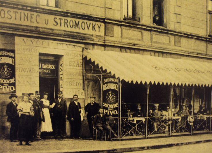 Prague Stromovka - around 1900