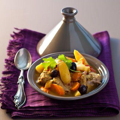 Découvrez la recette du tajine d'agneau au citron confit