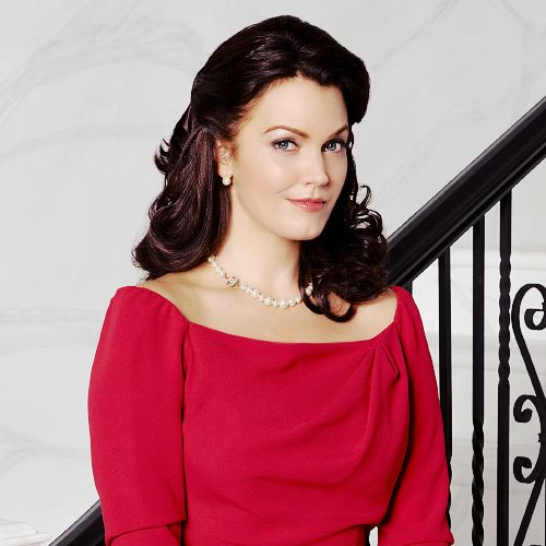 Bellamy Young as Mellie Grant on #Scandal