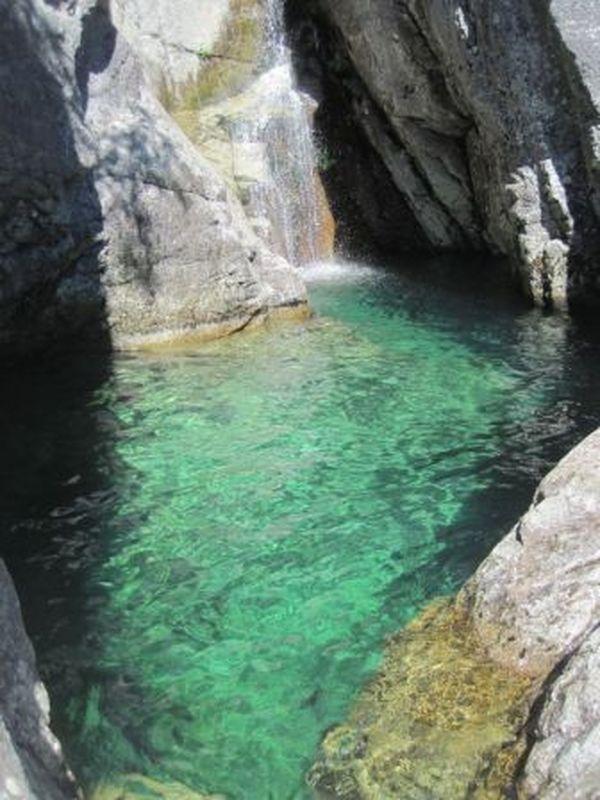 Corsica - Cascades et Canyons - Agnone - Commune : Vivario - Canyon de Agnone (Haute Corse) (Cascade des anglais)