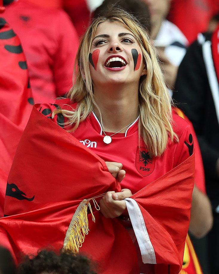 #EURO2016 Female Fans of Euro 2016 - Albania