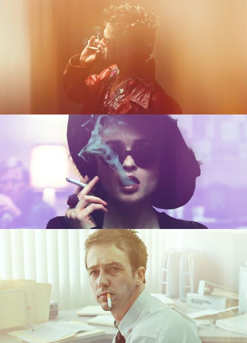 """""""You met me at a very strange time in my life."""" #FightClub"""