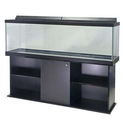 Aqueon 125g Gallon Fish Tank. Comes with Stand and Flourescent Lights!