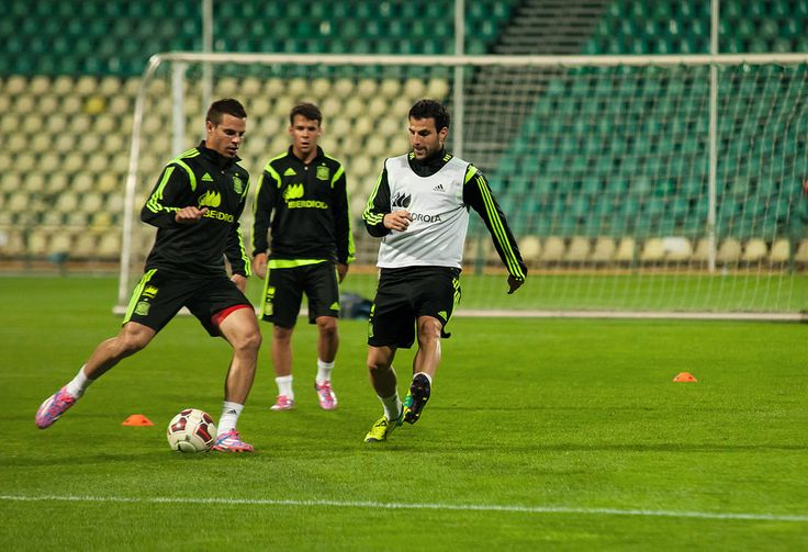 https://flic.kr/p/pRdfjq | ZILINA, SLOVAKIA  - OCTOBER 8, 2014: Spain national team players take part in a training session ahead of their UEFA EURO 2016 qualifier against Slovakia | ZILINA, SLOVAKIA  - OCTOBER 8, 2014: Spain national team players take part in a training session ahead of their UEFA EURO 2016 qualifier against Slovakia