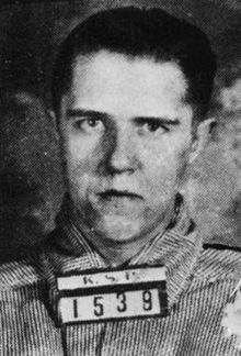 """Alvin Francis Karpis (born Albin Francis Karpowicz; August 10, 1907 – August 26, 1979), nicknamed """"Creepy"""" for his sinister smile and called """"Ray"""" by his gang members, was an American criminal known for being one of the three leaders of the Barker-Karpis gang in the 1930s. He was the last """"Public Enemy #1"""" to be taken. He also spent the longest time as a federal prisoner in Alcatraz Prison, serving twenty-six years."""