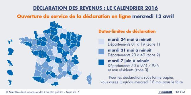 Le Service De Declaration En Ligne Est Ouvert Depuis Le Mercredi