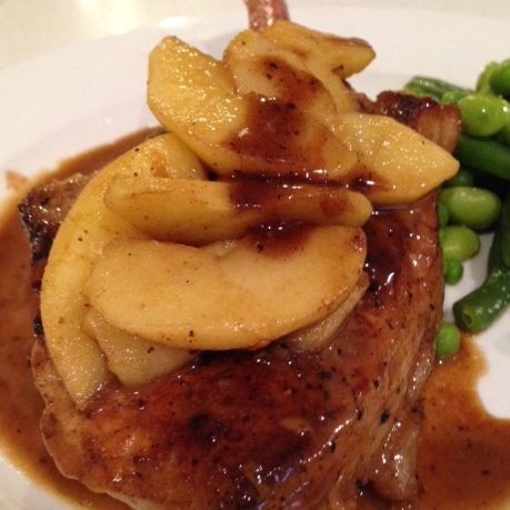My Madeira pork with apples :-)) This puts a big smile on my face!!