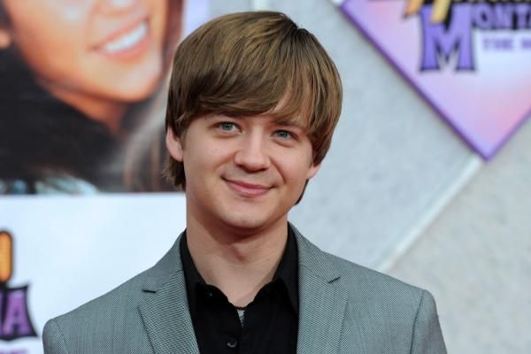 Disney Channel stars reunited to see Jason Earles tie the knot with Katie Drysen at a wedding in Los Angeles.