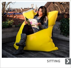 The Sit on It Original bean bag chair - perfect for indoor and ...